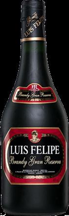 Brandy Luis Felipe Gran Reserva - 0,35 L.
