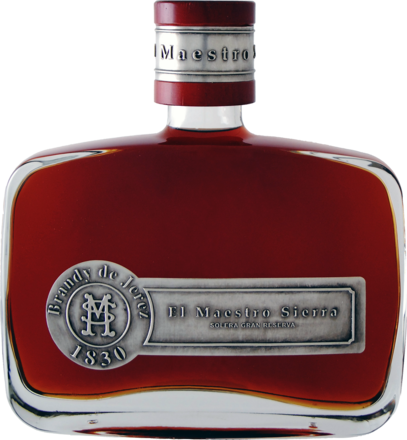 Brandy El Maestro Sierra Solera Gran Reserva - 0,7 L.