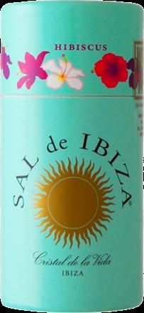 Sal de Ibiza »Granito con Hibiscus« - Streuer mit Deckel 90 g