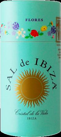 Sal de Ibiza »Granito con Flores« - Streuer mit Deckel 75 g