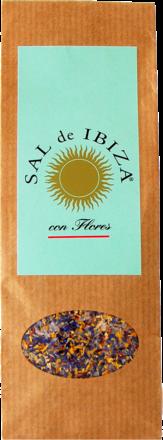 Sal de Ibiza »Granito con Flores« - 150 g Beutel