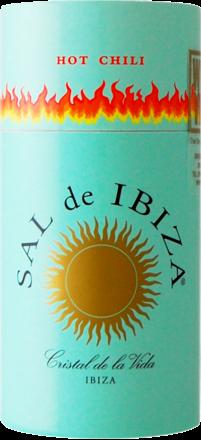 Sal de Ibiza »Granito con Chili« - Streuer mit Deckel 75 g