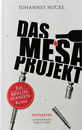 Krimi »Das Mesa Projekt« (Buch)