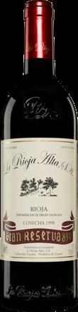 La Rioja Alta »890« Gran Reserva 1998