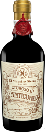 El Maestro Sierra »Extra Viejo 1/7« Oloroso - 0,375 L.