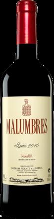 Malumbres  Reserva 2010
