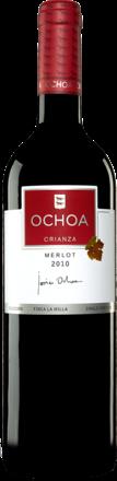 Ochoa Merlot  Crianza 2010