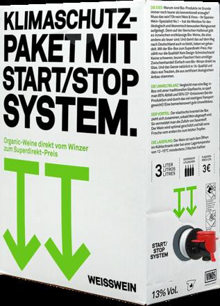 Klimaschutzbox Weißwein - 3 Liter