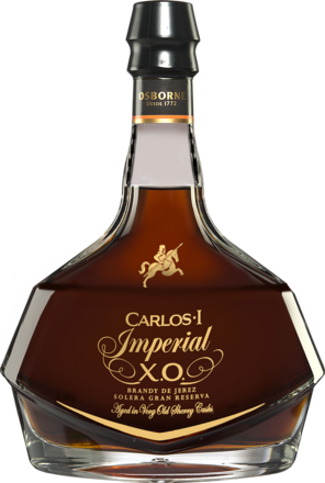 Brandy »Carlos I Imperial X.O.« Solera Gran Reserva - 0,7 L.