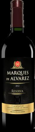 Marqués de Alvarez Reserva 2012