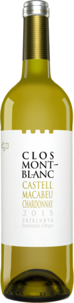 Clos Montblanc Castell Macabeu Chardonnay 2015