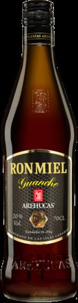 Ron Arehucas Miel Guanche - 0,7 L.