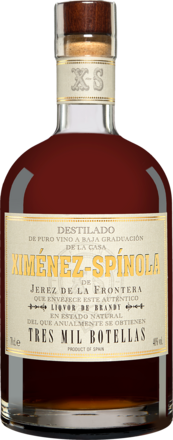 Ximénez Spinola Liquor de Brandy Tres Mil botellas