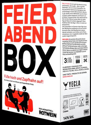 Feierabendbox Rotwein - 3 Liter