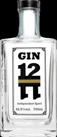 Gin 12-11, London Dry - 0,7 L.