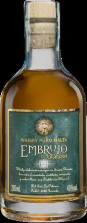 Whisky Puro Malta »Embrujo de Granada« - 0,2 L.