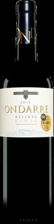 Ondarre Reserva 2014