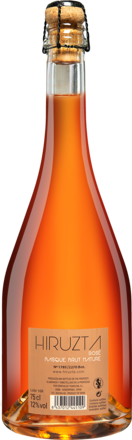 Hiruzta Basque Rosé Brut Nature