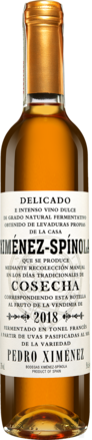Ximénez Spínola PX Cosecha - 0,5 L. 2018