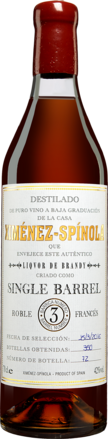 Ximénez Spínola Liquor de Brandy »Single Barrel«
