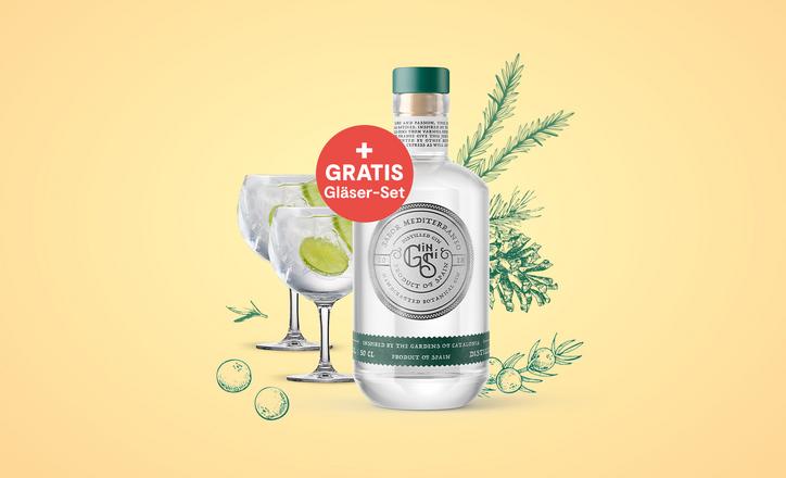 Gin Si + Gin-Gläserset