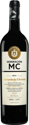 Marqués de Cáceres »MC« Reserva 2016