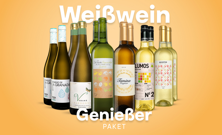 Weißwein-Genießer-Paket