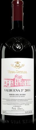 Vega Sicilia Valbuena 5° Año 2014 - 1,5 L. Magnum Reserva 2014