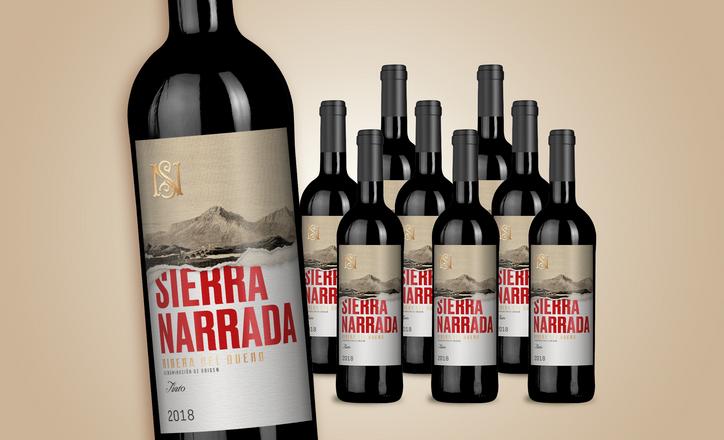 Sierra Narrada Tinto 2018