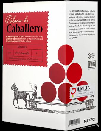 Palacio de Caballero Tinto - 3 Liter