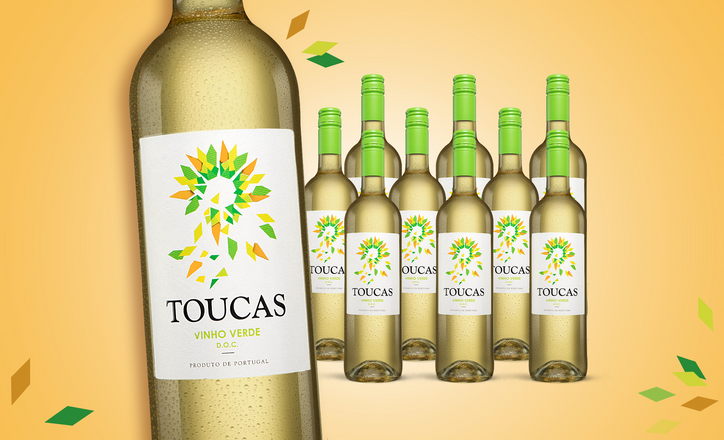 Toucas Vinho Verde Blanco 2019