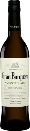 Pérez Barquero Amontillado Seco »Gran Barquero« - 0,5 L.