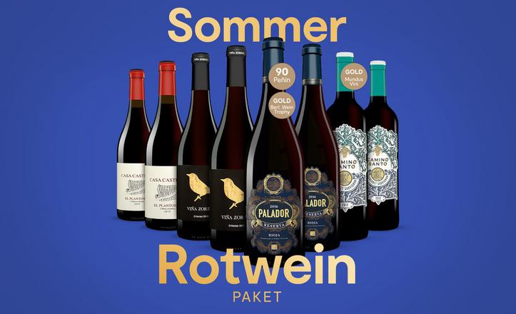 Sommer Rotwein Paket