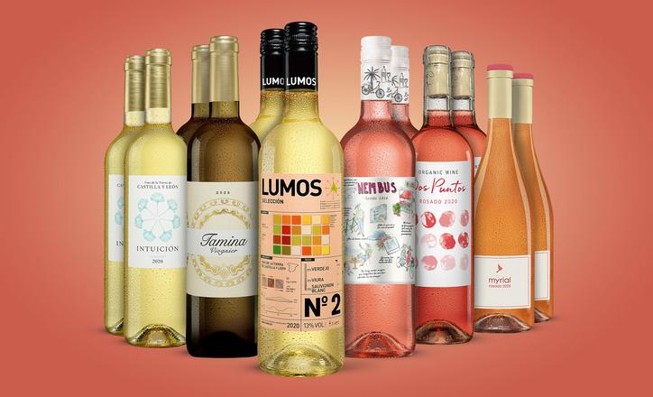 Weißwein und Rosé-Paket