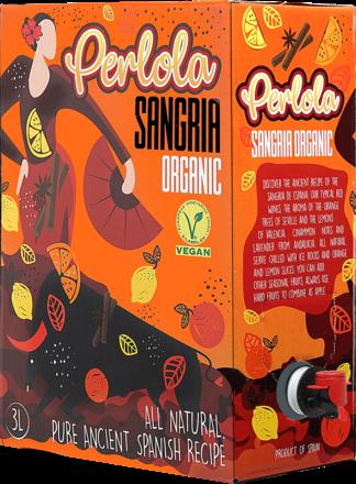 Organic Premium Sangría PERLOLA Tinto BiB - 3,0 L.