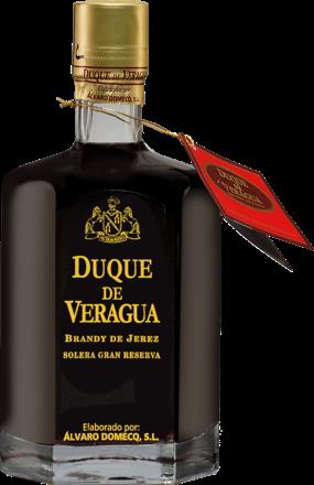 Brandy Álvaro Domecq »Duque de Veragua« Solera Gran Reserva - 0,7 L.