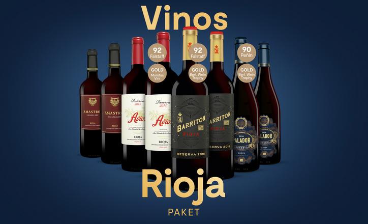 Vinos Rioja Paket