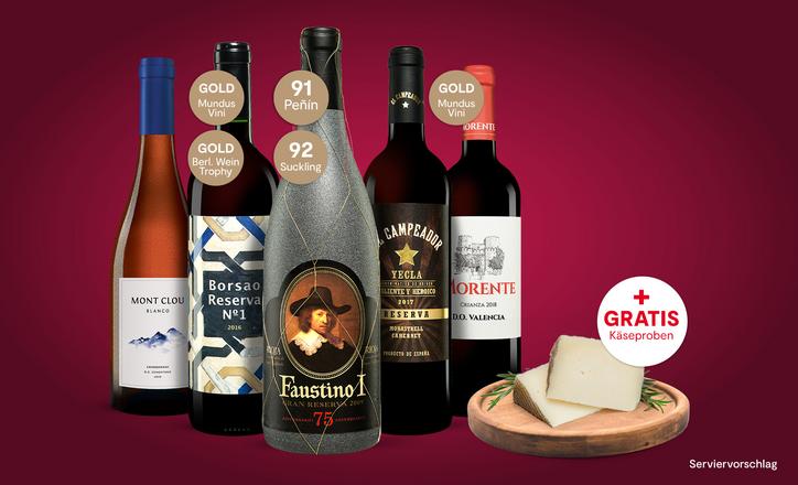 Vinos Weinprobe Paket
