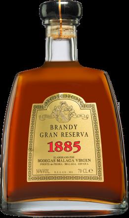 Brandy Málaga Virgen »Gran Reserva 1885« - 0,7 L.
