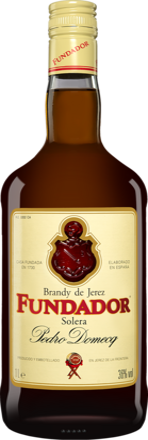 Brandy Domecq »Fundador« Solera - 1,0 L.