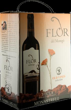 Flor del Montgó Monastrell Bag-in-Box - 3,0 L.