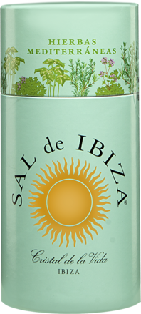 Sal de Ibiza »Granito con Hierbas« - Streuer mit Deckel 55 g