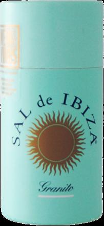 Sal de Ibiza »Granito« - Streuer mit Deckel 125 g
