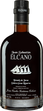 Brandy Gutiérrez-Colosía »Juan Sebastián Elcano« Solera Gran Reserva - 0,7 L. Gran Reserva