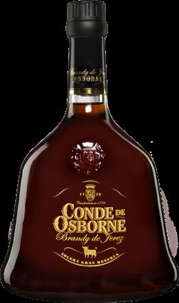 Brandy Osborne »Conde de Osborne« Solera Gran Reserva - 0,7 L.