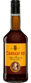 Brandy »Carlos III« Solera Reserva - 0,7 L.