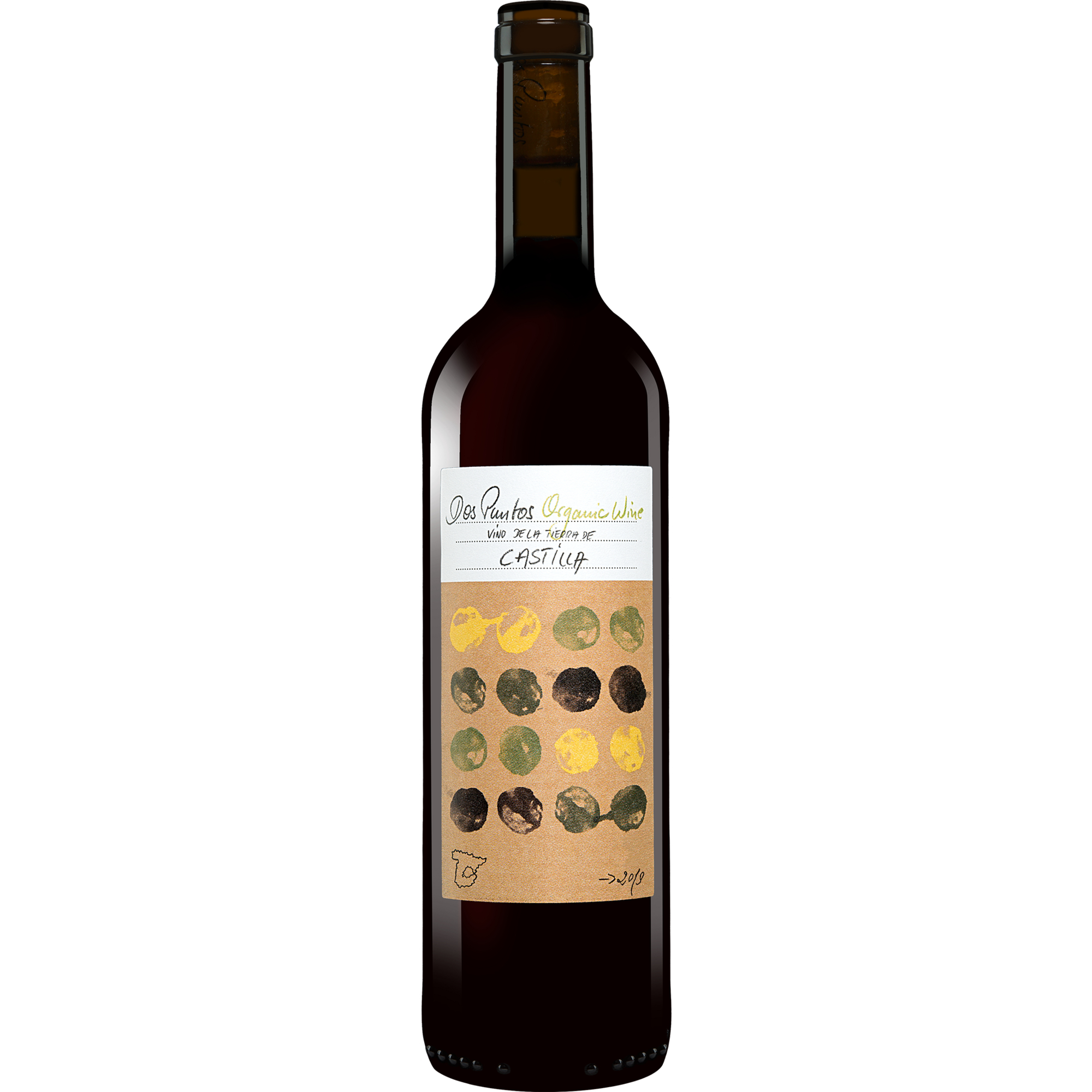 Image of Dos Puntos Tinto Organic 2019 0.75L 13.5% Vol. Rotwein Trocken aus Spanien